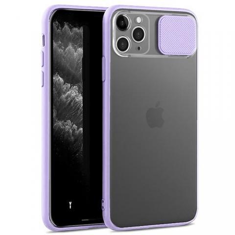 Чехол Slide Hide Camera для iPhone 11 Pro - lilac
