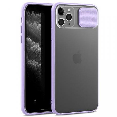 Чехол Slide Hide Camera для iPhone 11 Pro Max - lilac