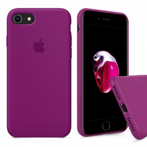 ull Silicone Case for iPhone 8/7 - Marsala
