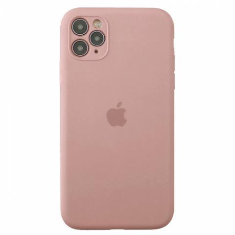 Чехол Silicone Case Full Camera для iPnone 11 Pro Max - Pink Sand