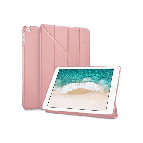 Чехол Y-type Case (PU Leather + Silicone) для iPad 4/ iPad 3/ iPad 2 Rose Gold