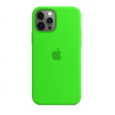 Силиконовый чехол для iPnone 13 Mini - Party Green