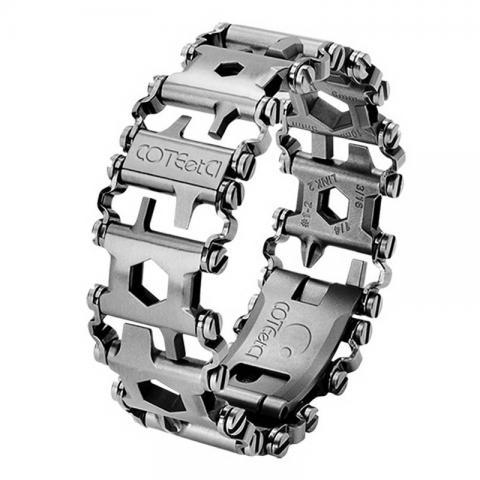 Ремешок Coteetci Explorer серебристый для Apple Watch 42/44mm