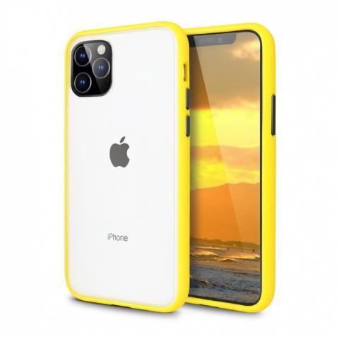 Противоударный чехол AVENGER для iPhone 12 Pro Max - Yellow/Black