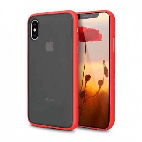 Противоударный чехол AVENGER для iPhone XS Max - Red