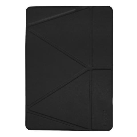 """Чехол Origami Logfer Case с держателем для стилуса для iPad Pro 12.9"""" (2020) - Черный"""