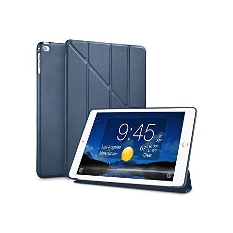 Чехол Y-type Case (PU Leather + Silicone) для iPad 4/ iPad 3/ iPad 2 Dark Blue