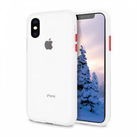 Противоударный чехол AVENGER для iPhone XR - White/Red