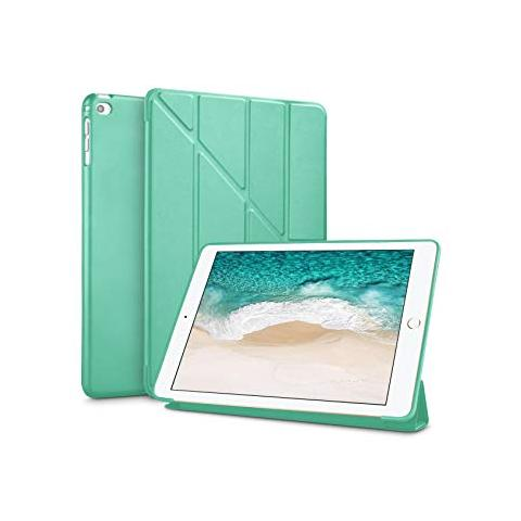 Чехол Y-type Case (PU Leather + Silicone) для iPad 4/ iPad 3/ iPad 2 Turquoise
