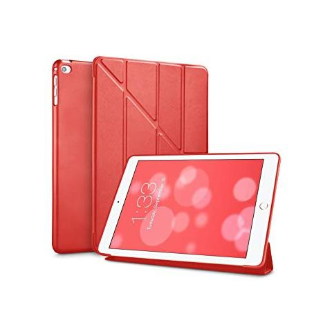 Чехол Y-type Case (PU Leather + Silicone) для iPad 4/ iPad 3/ iPad 2 Red