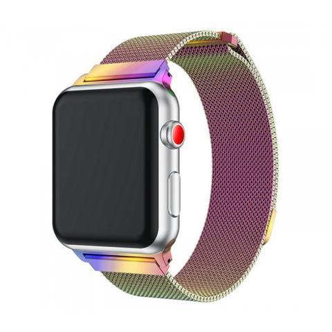 Ремешок Milanese Loop Colorful для Apple Watch 42/44 mm
