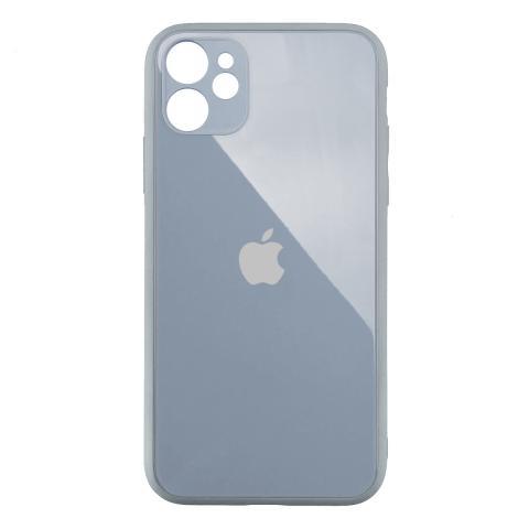 Стеклянный чехол с защитой для камеры для iPhone 11 Stone
