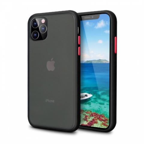 Противоударный чехол AVENGER для iPhone 12 Pro Max - Black/Red
