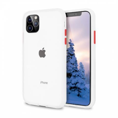 Противоударный чехол AVENGER для iPhone 11 - White/Red