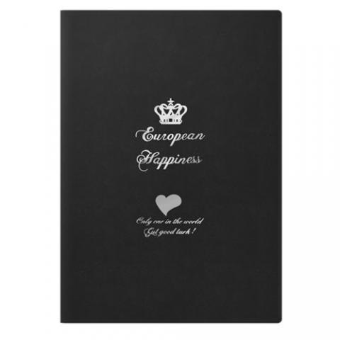Чехол с рисунком iBacks Ultra-slim Crown черный для iPad mini 2/3
