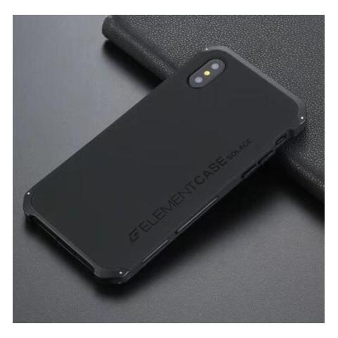 Чехол-накладка для iPhone XS Max Element Case Solace Black