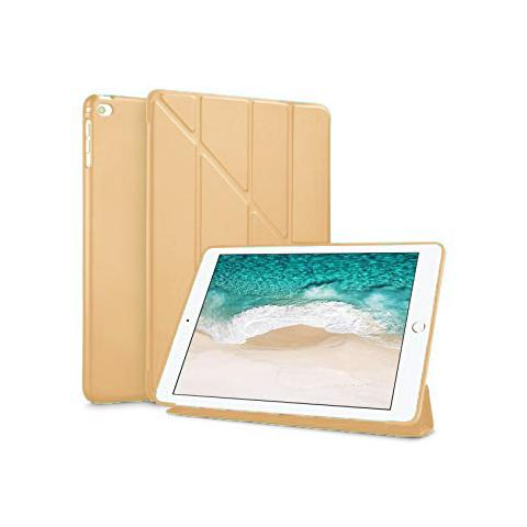 Чехол Y-type Case (PU Leather + Silicone) для iPad 4/ iPad 3/ iPad 2 Gold