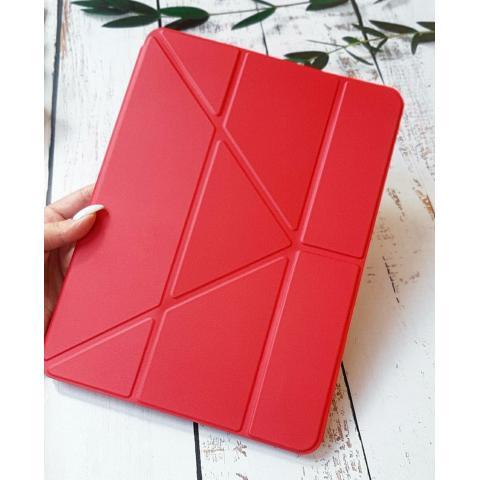 Смарт-чехол Origami с держателем для стилуса для iPad Air 4 10,9 (2020) Red