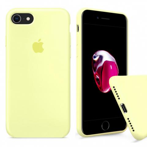 Full Silicone Case for iPhone 8/7 - Mellow Yellow