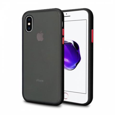 Противоударный чехол AVENGER для iPhone XS Max - Black/Red