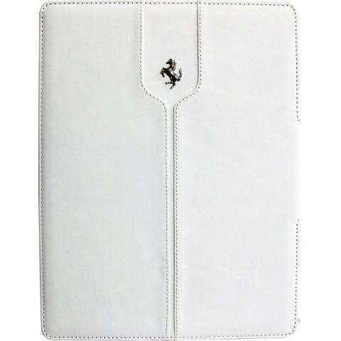 Чехол Ferrari Montecarlo Collection Case Book Type для iPad Air - white