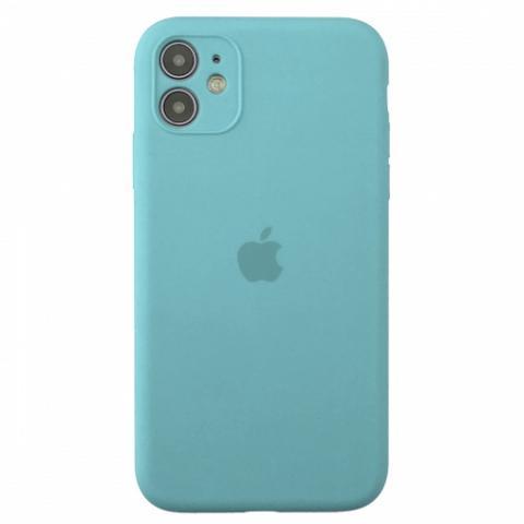 Чехол Silicone Case Full Camera для iPnone 11 - Turquoise