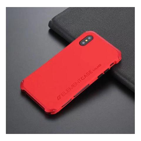 Чехол-накладка для iPhone XS Max Element Case Solace Red