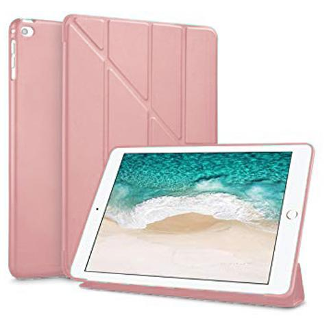 "Чехол Y-type Case (PU Leather + Silicone) для iPad 9.7"" (2017/2018) Rose Gold"