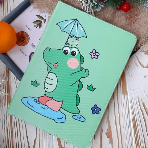 Чехол Print Case для iPad Air - Dino Turquoise