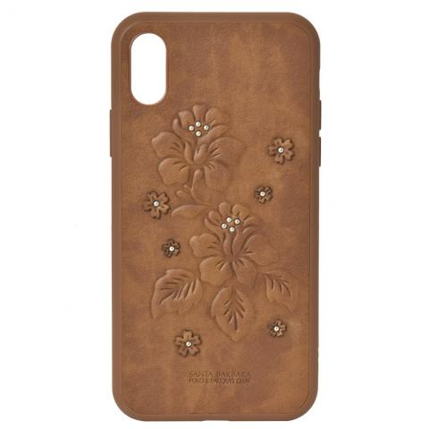 Чехол Polo Azalea Case Brown For iPhone X (SB-IPXSPAZA-BRW)