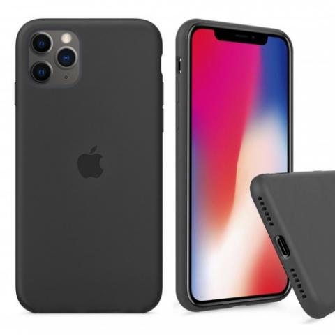 Чехол Full Silicone case для iPhone 11 Pro - Charcoal Grey