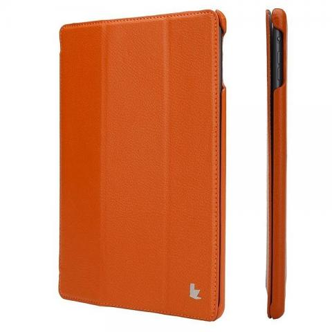 "JISONCASE Ultra-Thin Smart Case for iPad 9.7"" (2017/2018) Orange (JS-ID5-09T90)"