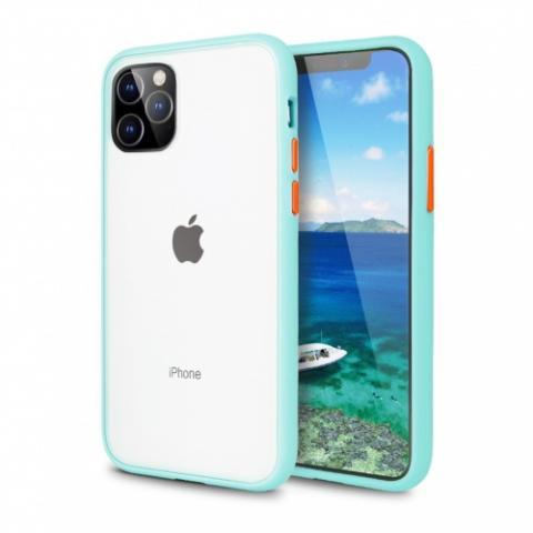 Противоударный чехол AVENGER для iPhone 12 Mini - Turquoise/Red