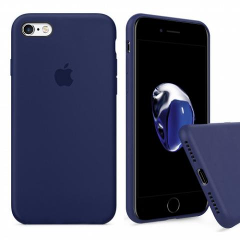 Чехол Full Silicone Case iPhone 6/6S - midnight blue