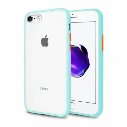 Противоударный чехол AVENGER для iPhone 7/8 - Turquoise/Red
