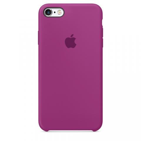 Чехол Silicone Case для iPhone 5/5S/SE - Brinjal