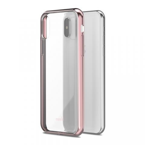 Чехол-накладка Moshi Vitros для Apple iPhone X розовый