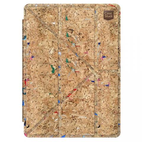 "Чехол-книжка для Apple iPad Pro 12,9"" - CaseStudi Folding Corkwood Mix"