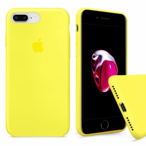 Full Silicone Case for iPhone 8 Plus/7 Plus - flash