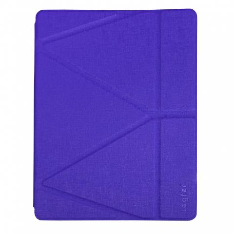 """Чехол Logfer с держателем для стилуса для iPad 7 10.2"""" (2019) - фиолетовый"""