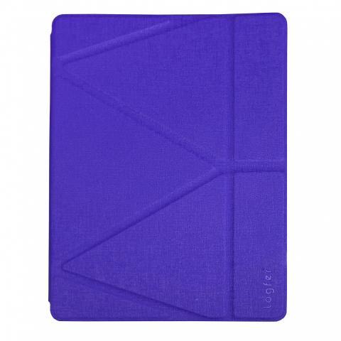 Чехол Logfer с держателем для стилуса для iPad Mini 5 (2019) - фиолетовый