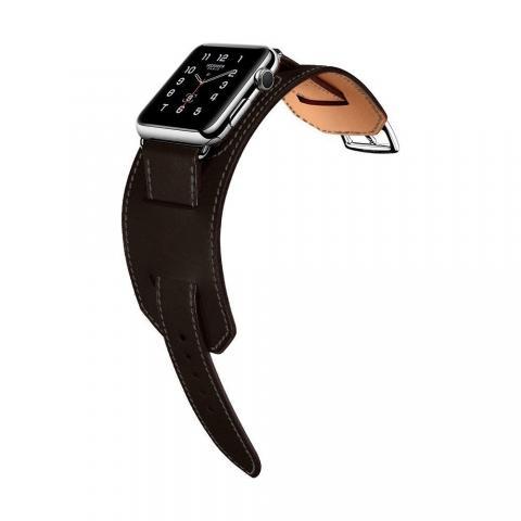 Ремешок для Apple Watch 38/40мм - Coteetci W10 Hermes темно-серый