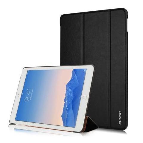 Кожаный чехол XUNDD Luxury Fashion Folded для iPad Air 2 - черный