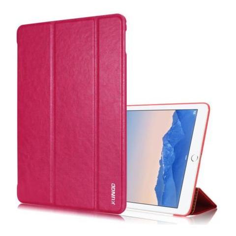Кожаный чехол XUNDD Luxury Fashion Folded для iPad Air 2 - розовый