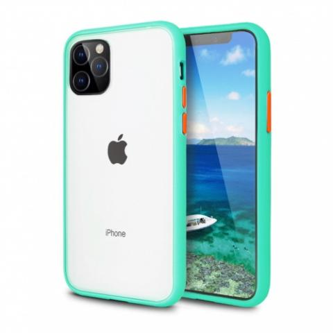 Противоударный чехол AVENGER для iPhone 11 Pro Max - Turquoise/Red