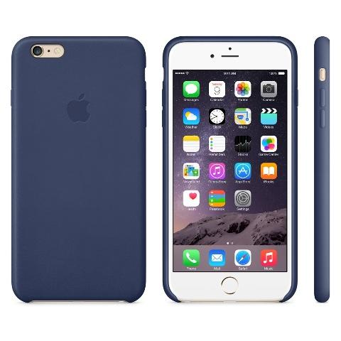 Чехол Apple Case for iPhone 6 Plus Leather Blue