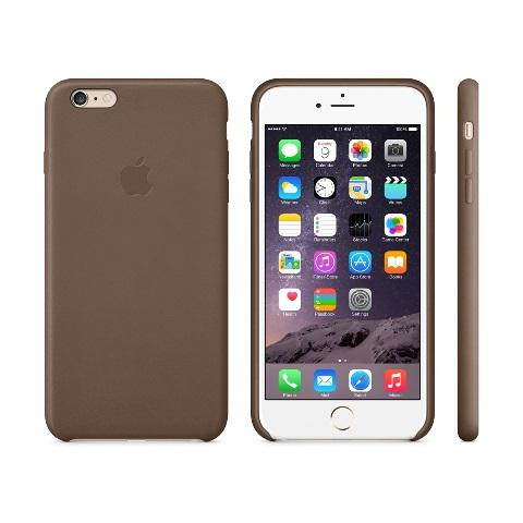 Чехол Apple Case for iPhone 6 Plus Leather Brown