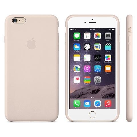 Чехол Apple Case для iPhone 6 Plus Leather Soft Pink
