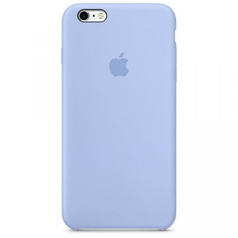 Apple Silicone Case iPhone 6/6S - Light Violet (Hi-copy)
