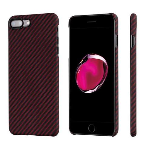 Чехол Pitaka Aramid Case Black/Red for iPhone 8 Plus/7 Plus (KI8003S)